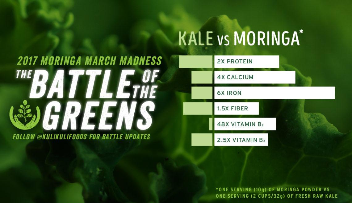 Battle of the Greens: Kale vs Moringa