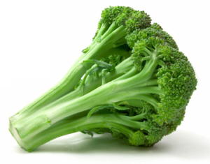Broccoli contains cancer preventing chemicals on top of its other health benefits.