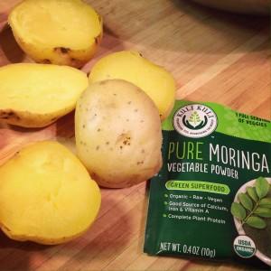 Moringa Meets Potato