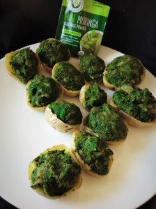Green Moringa Potato Bites Vert