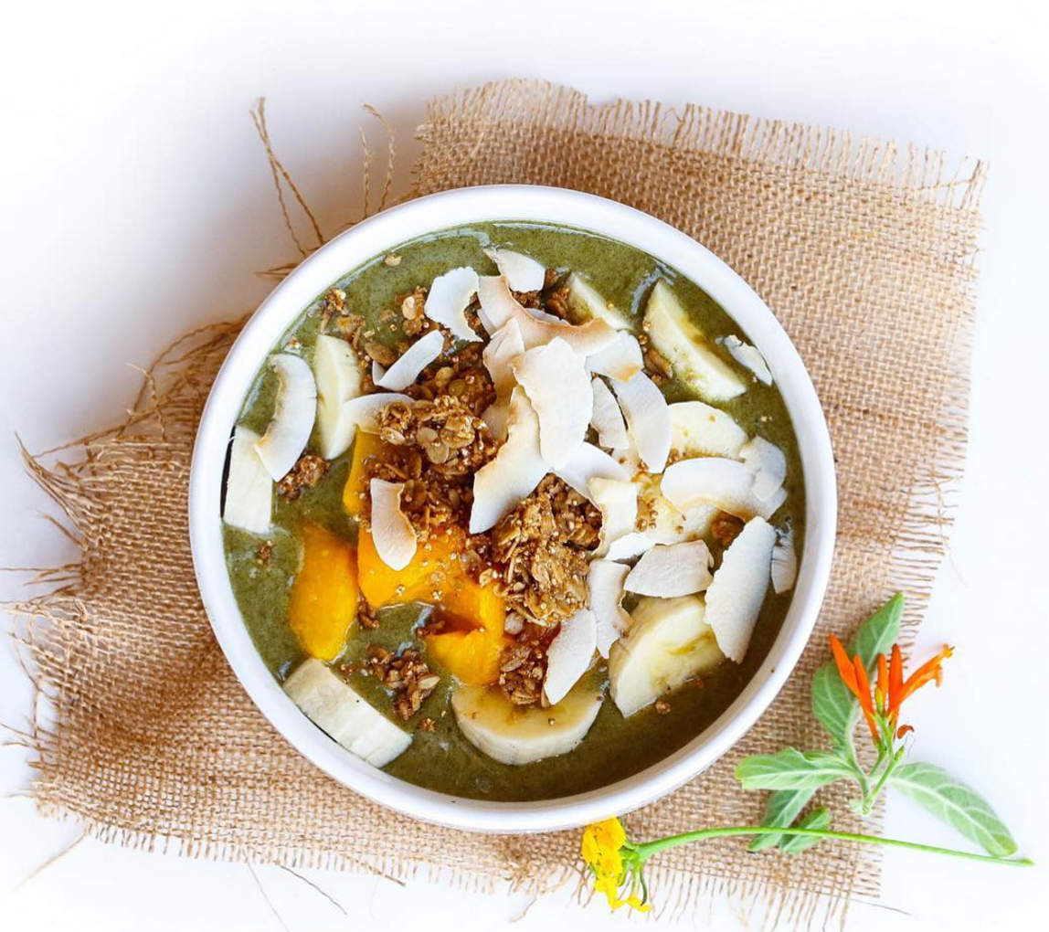 Moringa Green Smoothie Bowl