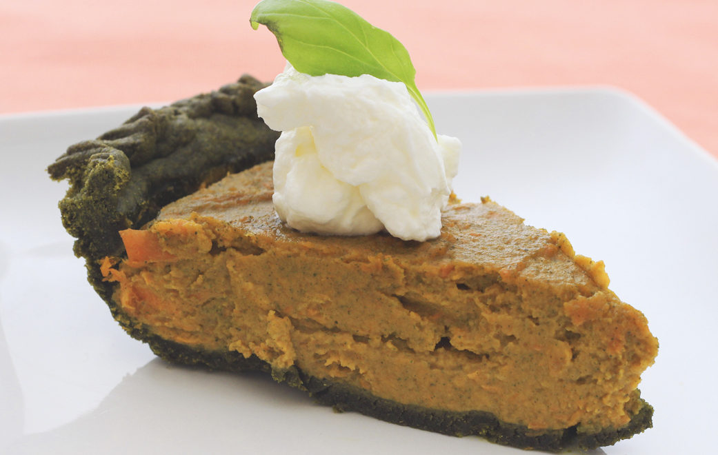 Moringa Sweet Potato Pie