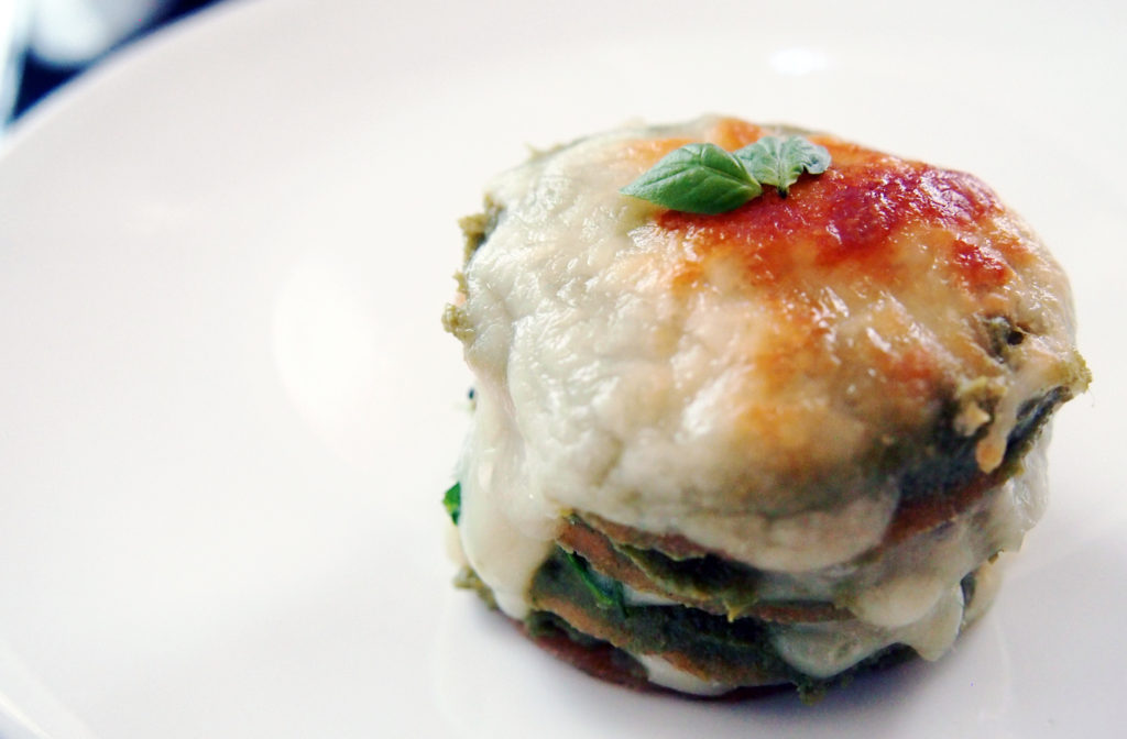 Vegan moringa spinach lasagna Photo by Barbara Lee