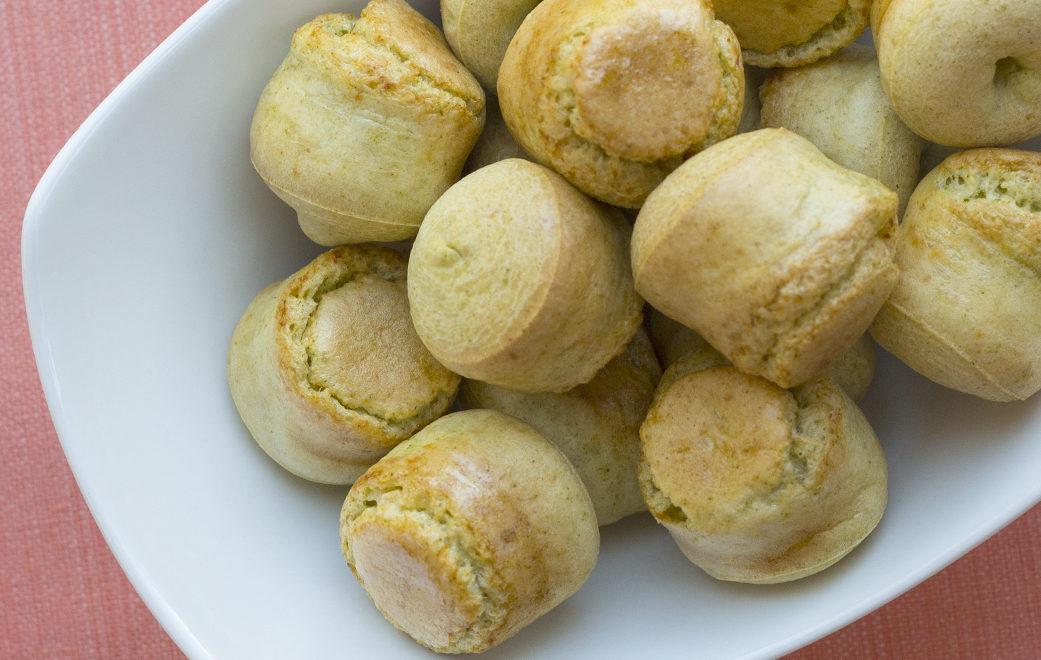 Brazilian Moringa Cheesy Bread
