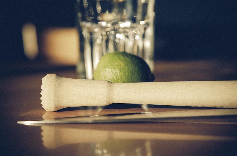 Moringa Caipirinha Cocktail