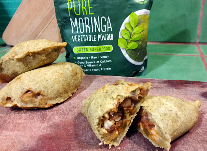 Freezable Moringa Vegetable Empanadas