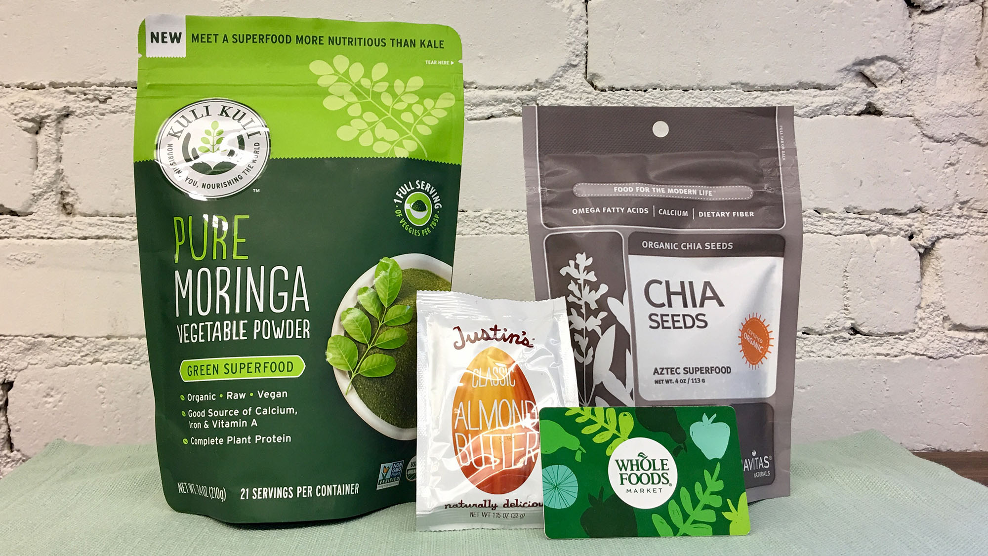 Image of Moringa Superfood Smoothie Giveaway prizes