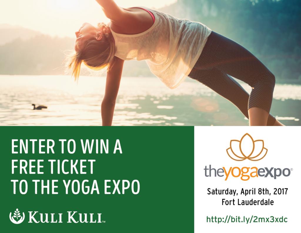 Kuli Kuli Yoga Expo Giveway