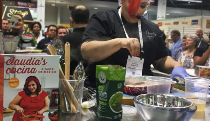Chef Claudia Sandoval of MasterChefs wins KeHE CareTrade Celebrity Chef Showdown at Natural Products Expo West 2017