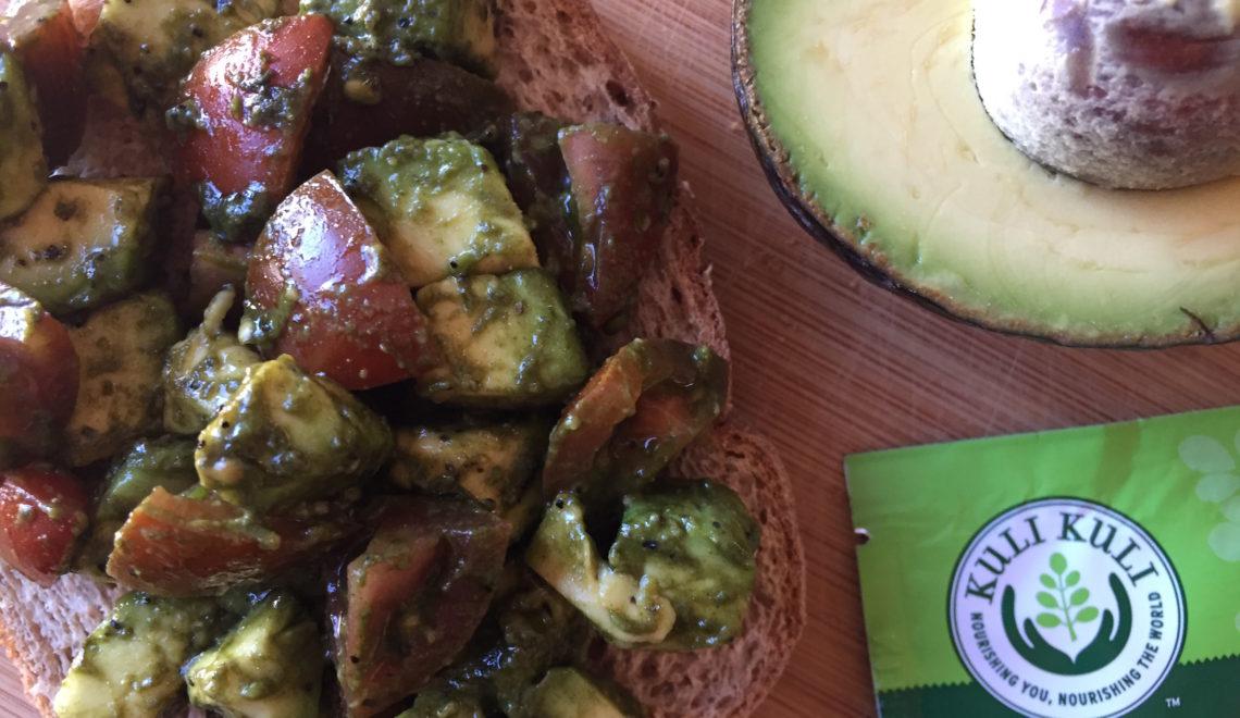 moringa avocado toast