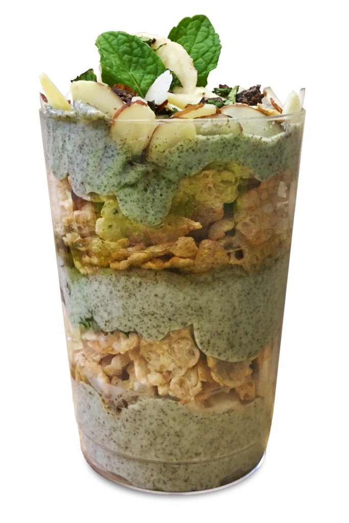Moringa Green Goodness Parfait