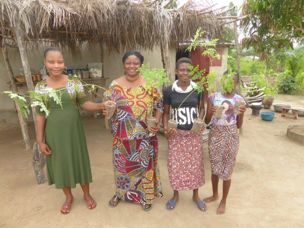 moringa empowers women
