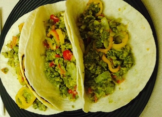 moringa breakfast burritos