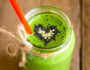 Green moringa smoothie