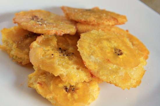 Nicaraguan Inspired Moringa Tostones