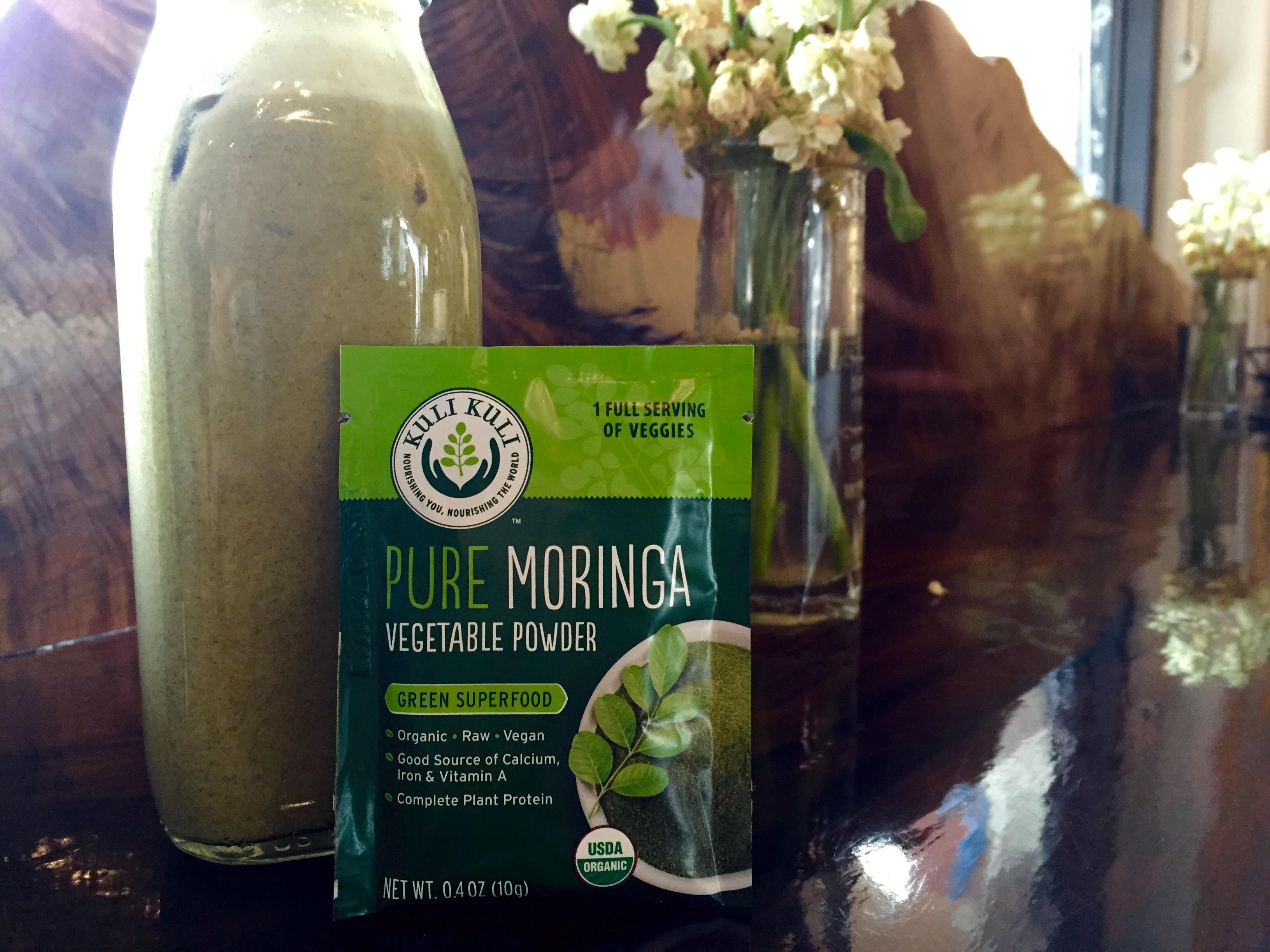 The Moringa Latte - Kuli Kuli Foods