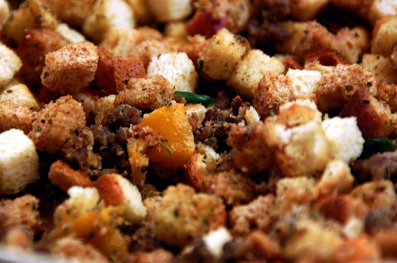 Hearty Paleo Moringa Stuffing