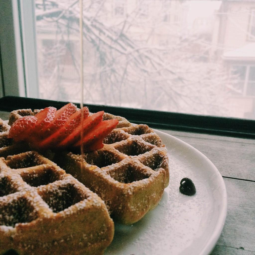 Moringa Waffles