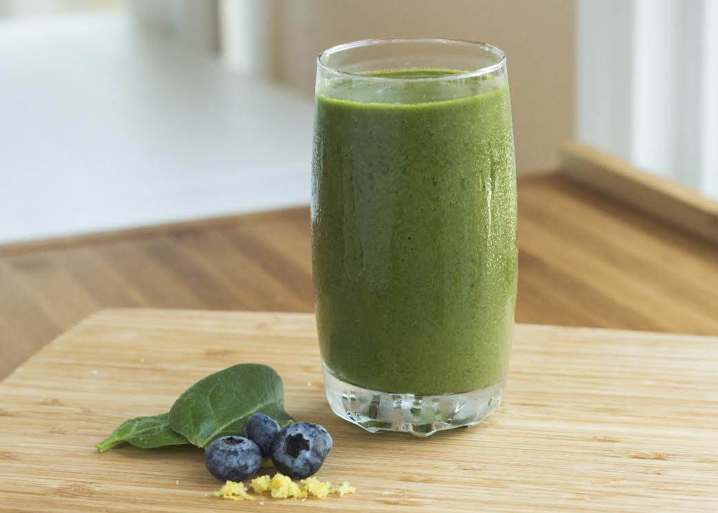 Basic Green Moringa Smoothie