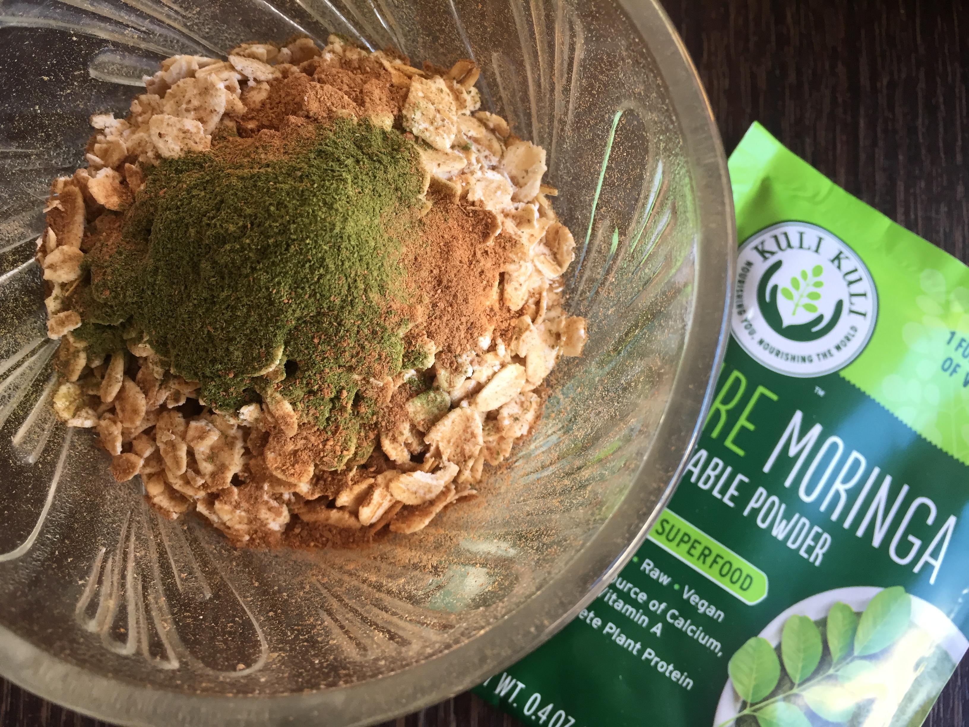 moringa oatmeal