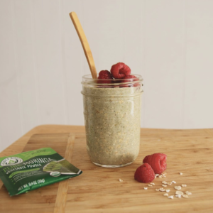 Moringa smoothie routine