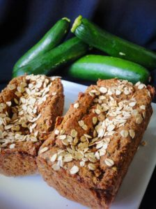Moringa Zucchini Bread