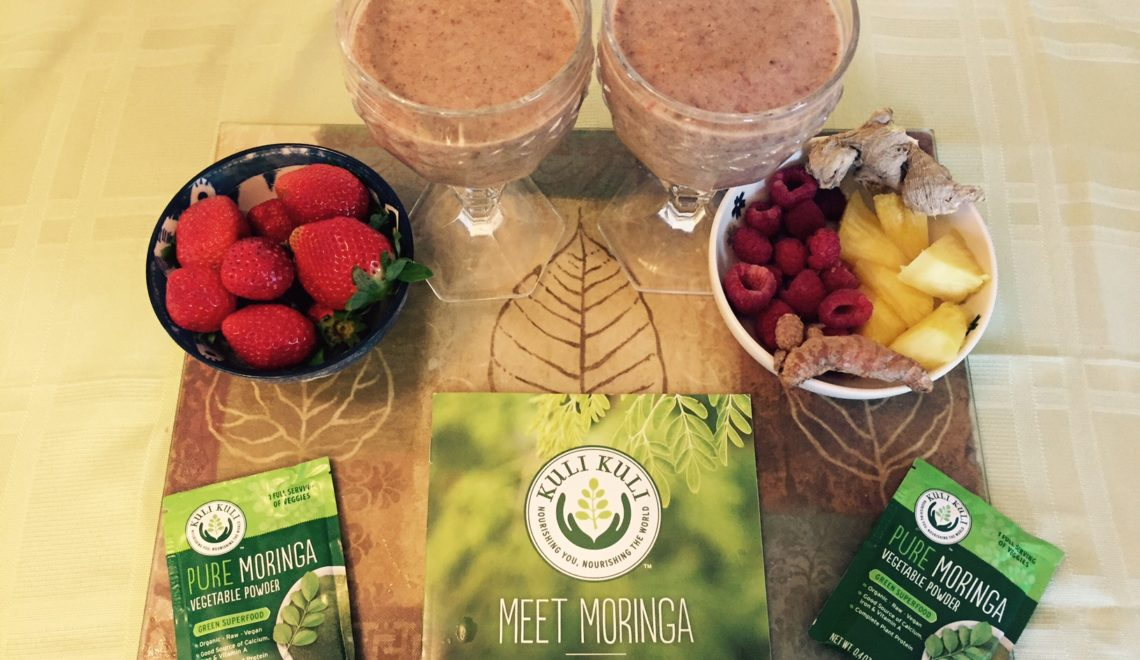 Moringa Anti-Inflammatory Smoothie