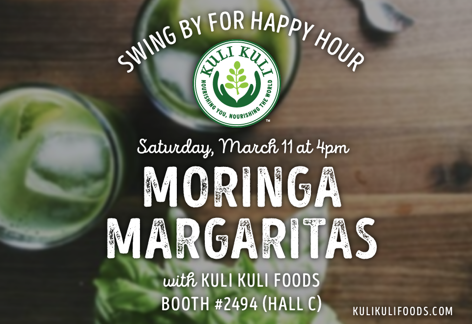 Moringa Makes a Splash at Expo West with Celebrity Chefs and Margaritas