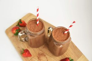 valentine's day moringa smoothie