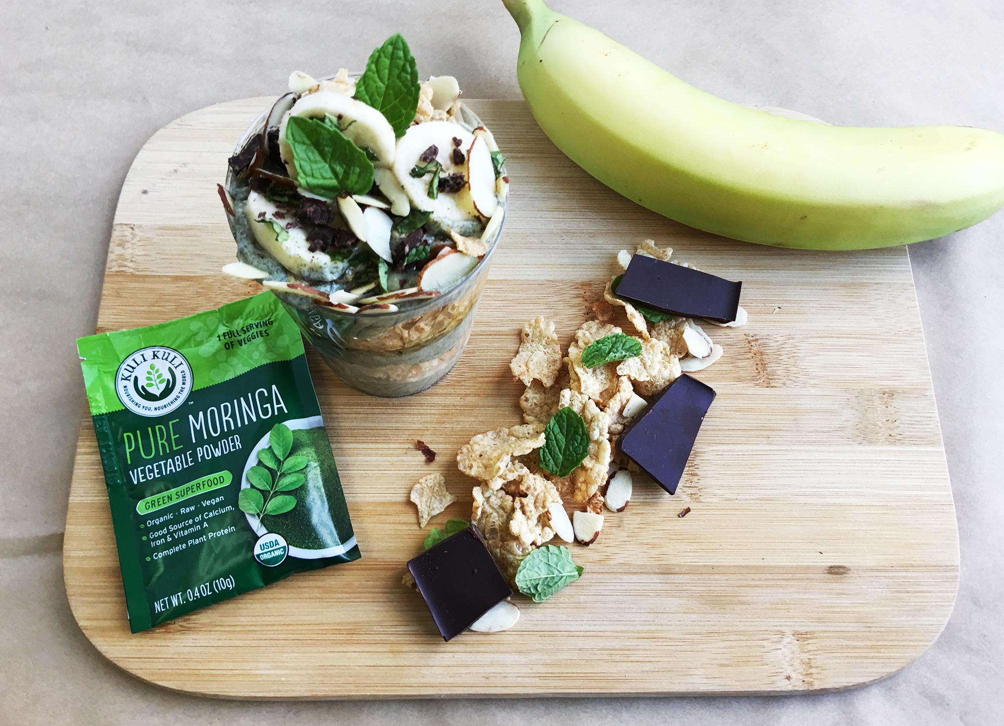 Moringa Green Goodness Parfait
