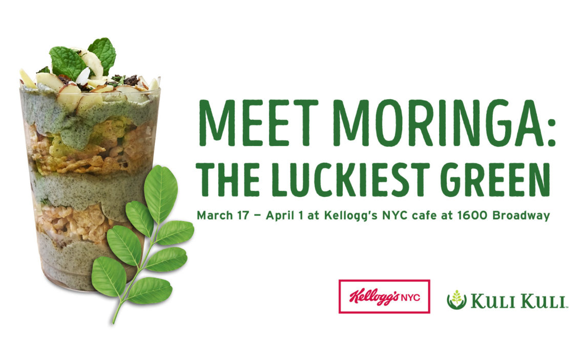 Kellogg's NYC Cafe Goes Green for St. Patrick's Day with New Superfood Moringa