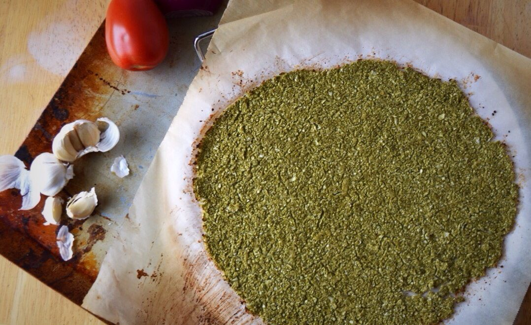 Cauliflower Moringa Pizza Crust