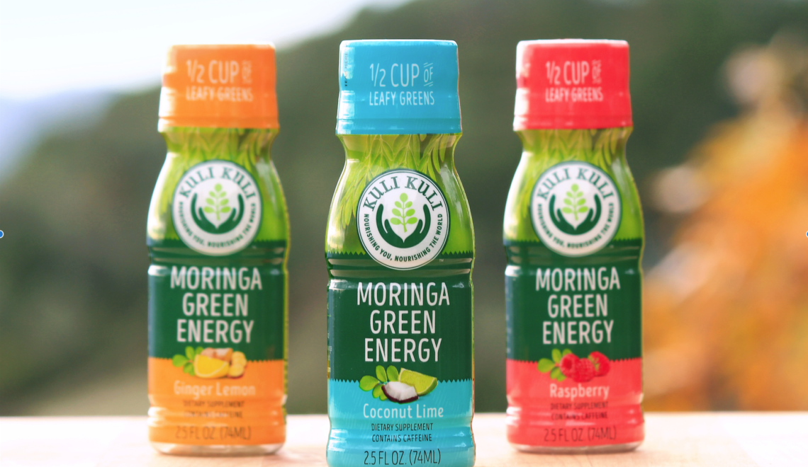 Meet the new and improved Moringa Green Energy shot