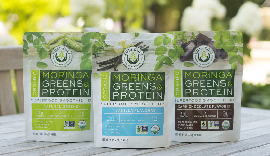 Kuli Kuli™ Expands Moringa Product Line with Plant Protein Superfood Smoothie Mix