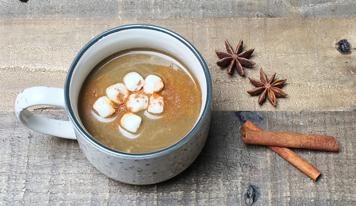 Anti-Inflammatory Moringa Hot Chocolate