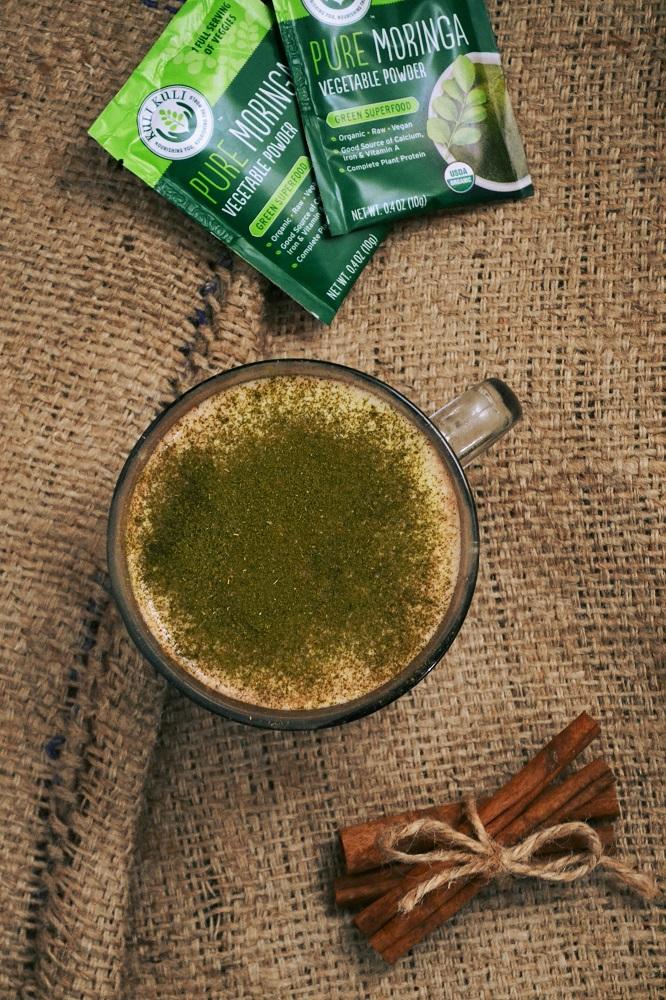 Moringa Pumpkin Spice Latte