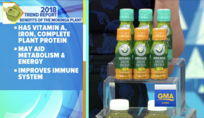 Kuli Kuli Moringa Green Energy Shots on ABC's Good Morning America