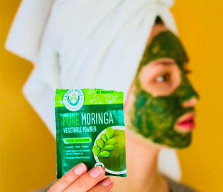 Moringa Face mask Link to Article
