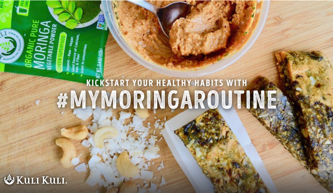 #MyMoringaRoutine with Dietitian Sarah Pflugradt