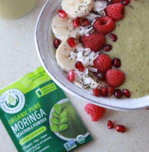 Moringa smoothie bowl