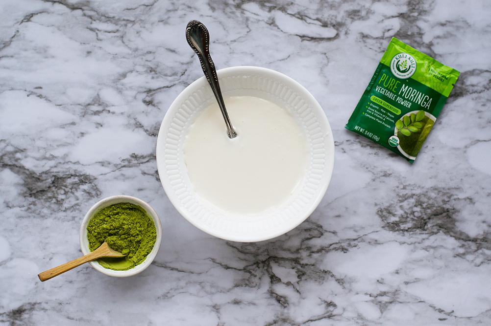Moringa Superfood Frosting with Kuli Kuli