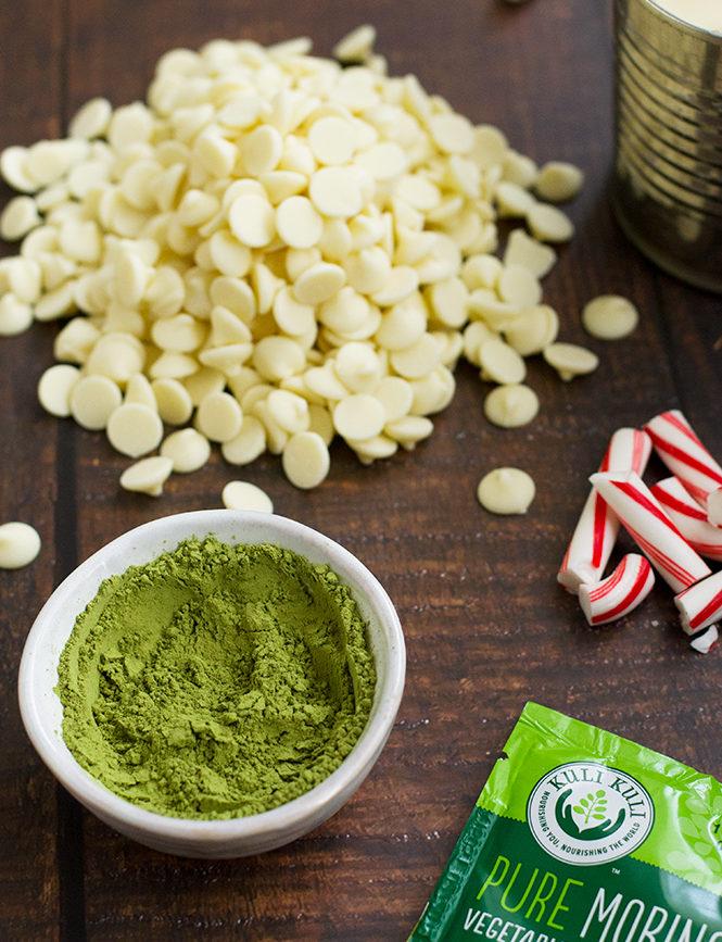 Peppermint Moringa Fudge Ingredients
