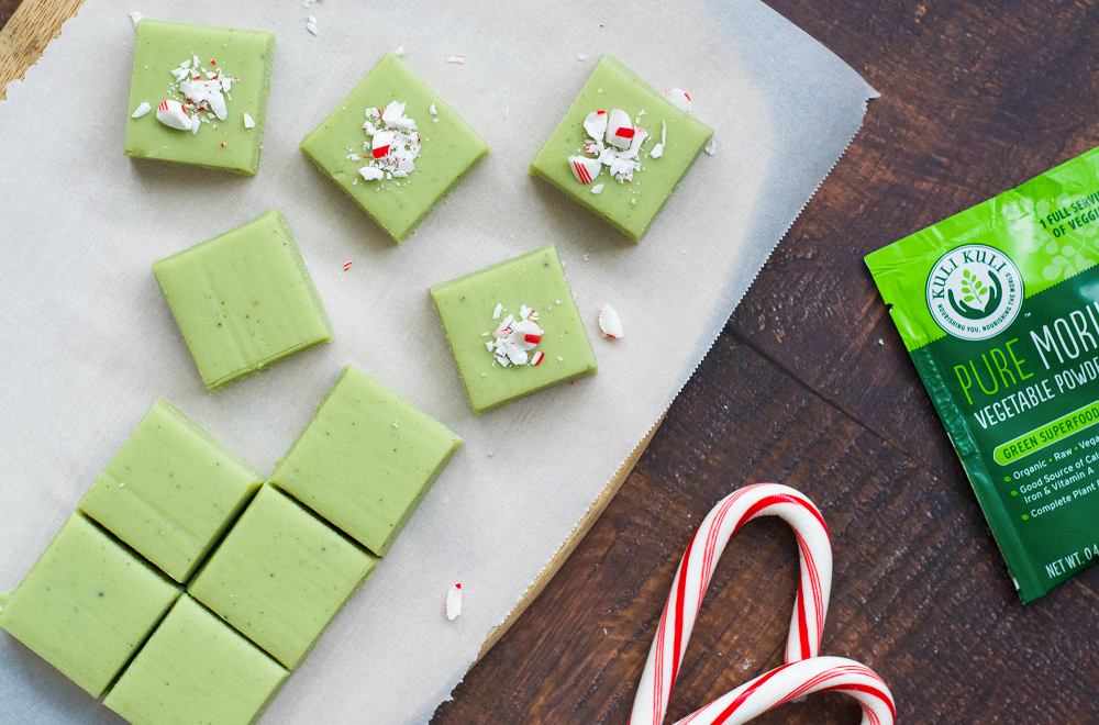 Peppermint Moringa Fudge