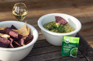 Moringa with Guacamole Made From The Pantry