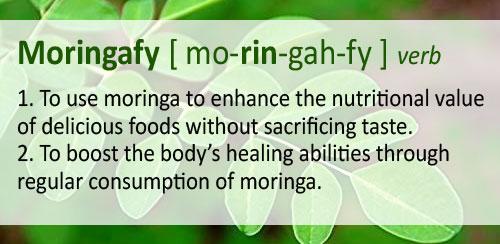 Moringafay text box: to use moringa to enhance nutritional value