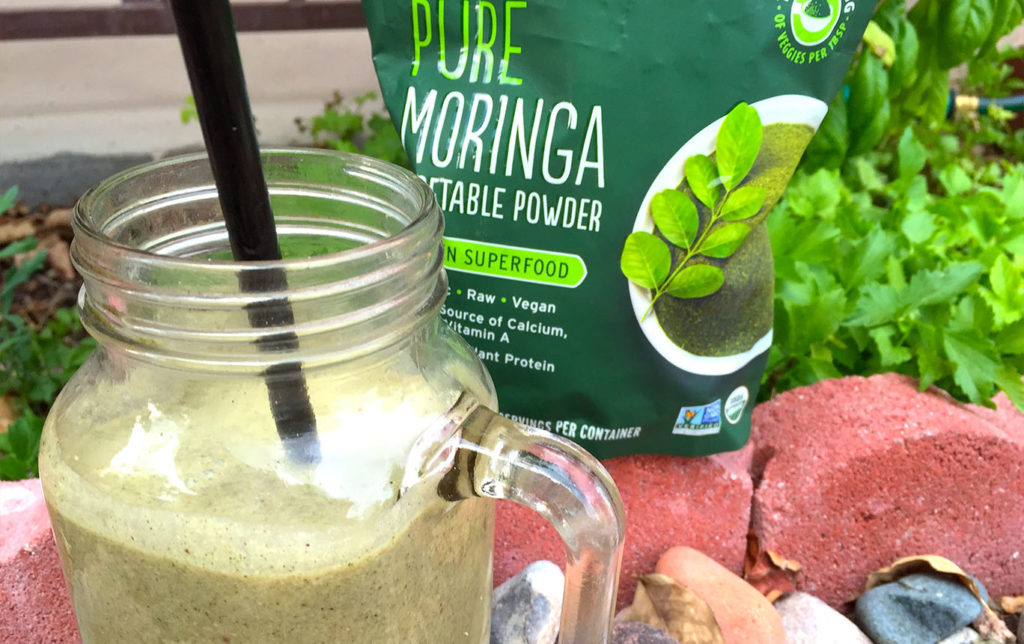 Black Tea Moringa Smoothie