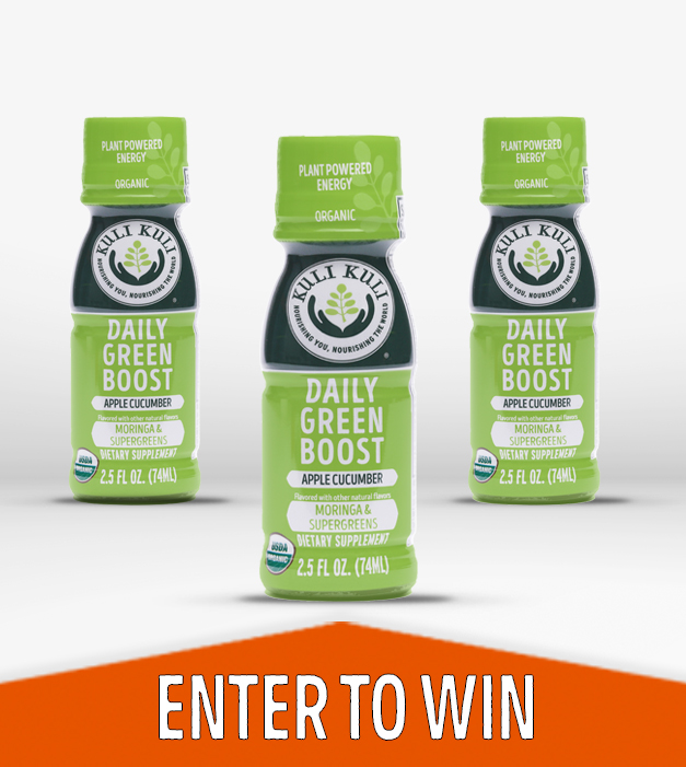 Daily Green Boost Wellness Shot Giveaway