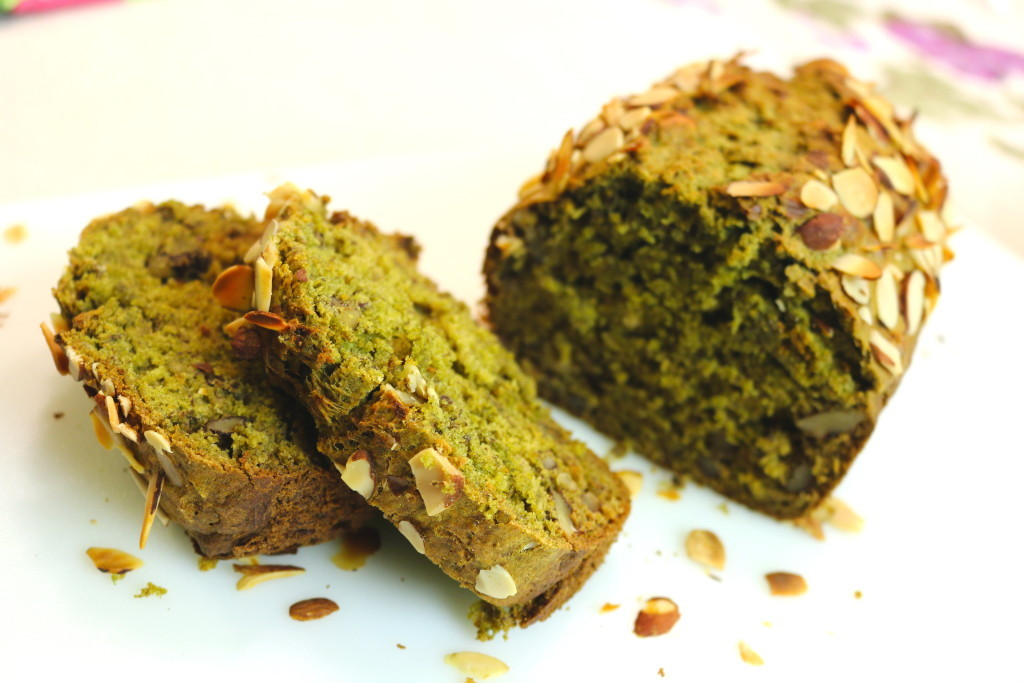 Banana Nut Moringa Bread