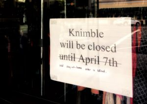 Small businesses closed due to SF Bay Area shelter-in-place laws