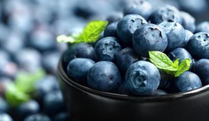 Blueberry antioxidant organic superfoods